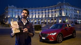 Mazda CX-3, la prova su strada di notte - Video Test