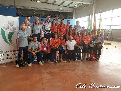 Liga Andaluza y Copa Federación de Petanca celebrada en Isla Cristina