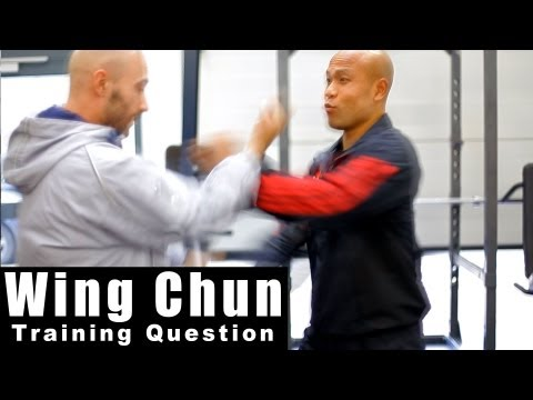 wing chun techniques –  why not use the centre line. Q12