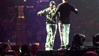 New Kids on the Block, 50 cent and Mark Wahlberg @ Madison Square Garden