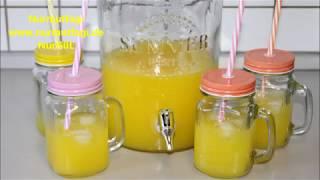 Video 2 Portakal ve 1 limondan 4 lt Limonata yapimi - evde kolay limonata tarifi-Nurmutfagi MP3, 3GP, MP4, WEBM, AVI, FLV Desember 2017