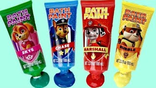 Video PAW PATROL Bath Time Fingerpaint Activity with Bubbles, Paddlin' Pups & Toy Surprise MP3, 3GP, MP4, WEBM, AVI, FLV Juni 2019