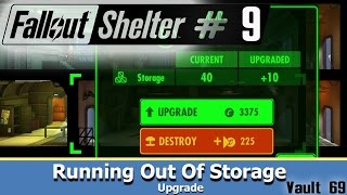 Vault 69 ~ Storage Upgrade ~ Fallout Shelter Android walkthrou...