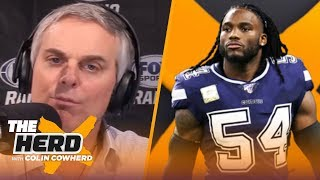 Jaylon Smith on possible schedule changes, playing for McCarthy, COVID-19 relief | NFL | THE HERD by Colin Cowherd