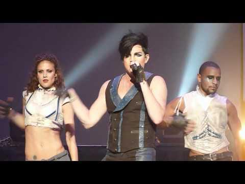 Adam Lambert - If I Had You Band/Dancer Intro - 2010/10/26 Honolulu HI (видео)