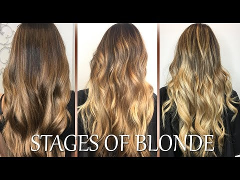 Hairdresser - MY HAIR TRANSFORMATION  Box Dye Black to Blonde! Before and After