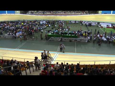 Jason Kenny takes sprint silver medal on final night of Track World Cup (video)