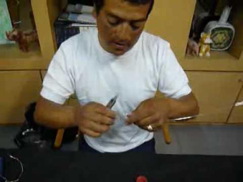 Javier - Figuras de alambre - Bicicleta