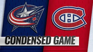 02/19/19 Condensed Game: Blue Jackets @ Canadiens by NHL