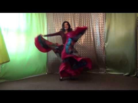 Цыганский танец. Курс уроков обучения онлайн.