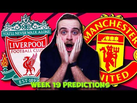 PREMIER LEAGUE 2020/21 WEEK 19 PREDICTIONS!