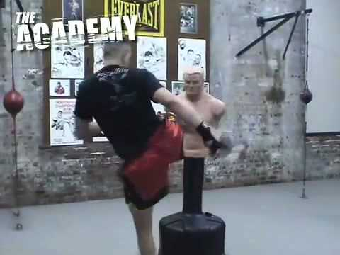 mbenson001 - basic difference between a high kick and a body kick.