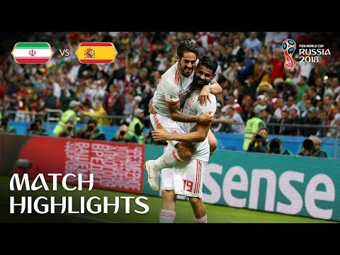 IR Iran v Spain - 2018 FIFA World Cup Russia™ - Match 20 (видео)