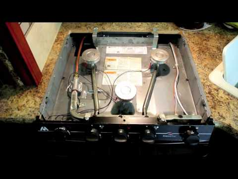RV Maintenance: Cleaning your Atwood range burners.