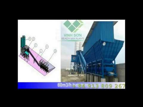 Cty Vinh Sơn, Ltd - Giải pháp tối ưu cho trạm trộn bê-tông