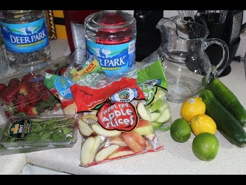 How To: Lose Weight Fast With Detox Water Diet