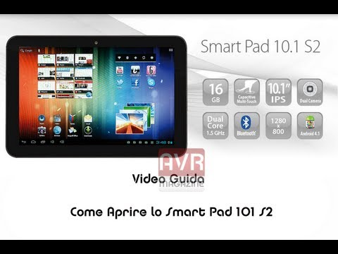Come aprire il Mediacom Smart Pad 101 S2 e 102 S2 - Video Guida - Forum AVRMagazine.com