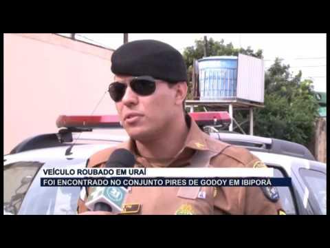VEICULO ROUBADO EM URAI ENCONTRADO EM IBIPORÃ 22 03 16
