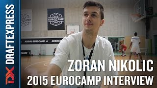 Zoran Nikolic Interview at the 2015 adidas EuroCamp - DraftExpress