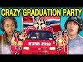 TEENS REACT TO CRAZY NORWAY HIGH SCHOOL GRADUATION PARTIES (Russefeiring)