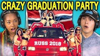 Video TEENS REACT TO CRAZY NORWAY HIGH SCHOOL GRADUATION PARTIES (Russefeiring) MP3, 3GP, MP4, WEBM, AVI, FLV Desember 2018