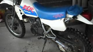 4. Kawasaki KLR 250 cold start