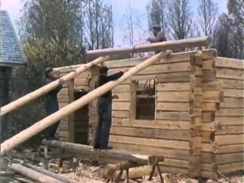 Finnish - Traditional Finnish Log House Building Process.