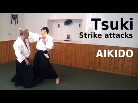 tsuki - Aikido techniques against tsuki, strike attacks. Uke is Martin Frankovic. Recorded in Kosice, after my seminar there in October this year. For more about aik...