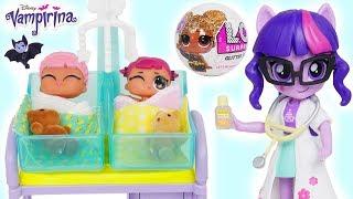 Video LOL Surprise Doll New Baby at Barbie Doctor Visit MP3, 3GP, MP4, WEBM, AVI, FLV April 2018