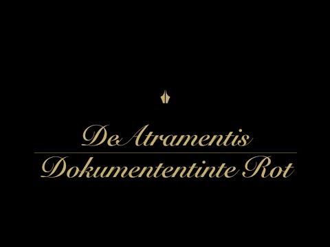 DeAtramentis Dokumententinte Rot - Tinten-Review