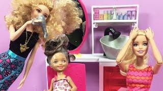 Video Barbie ve Ailesi Bölüm 114 - Ceren'in Yıpranmış Saçlarına Bakım - Çizgi film tadında Barbie oyunları MP3, 3GP, MP4, WEBM, AVI, FLV Desember 2017
