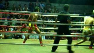 Thaiboxing Koh Lanta Thailand Knockout