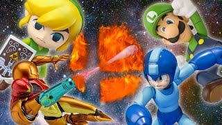Super Smash Bros Toys!