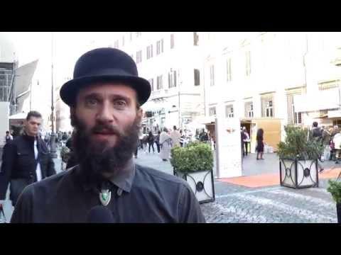 Marcia per la Terra 2015 - Adriano Bono si prepara alla sua esibizione
