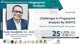 Challenges in Fingerprint Analysis by INAFIS
