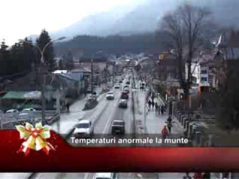 Temperaturi anormale la munte