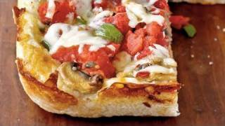 Light Chicago Deep Dish Pizza Recipe