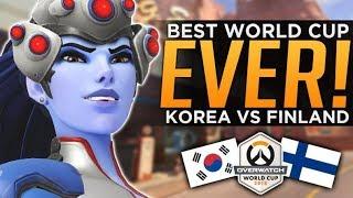 Overwatch: BEST World Cup Series EVER! - Korea vs Finland Analysis