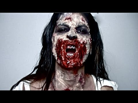 Lufy - Zombie pour Halloween - The Walking Dead inspiration - Maquillage Halloween Facile