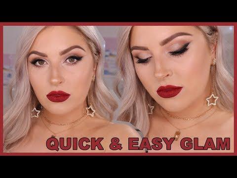 Glam Smokey Liner 🚬 ft Shaaanxo Palette & NEW Matte Liquid Lipsticks!