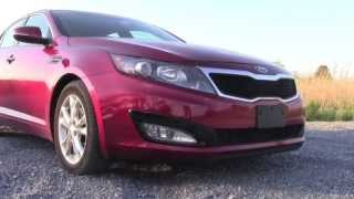 2013 KIA Optima --- Test Drive And Car Review