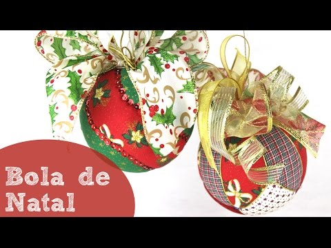 tutorial patchwork - christmas balls