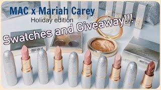 Video [Giveaway Event] 🎁 MAC X Mariah Carey Holiday Collection Lipsticks Swatches MP3, 3GP, MP4, WEBM, AVI, FLV November 2018