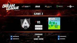 4Clovers vs Alliance, game 2