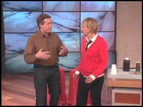 Steve Spangler auf der Ellen Show - September 2007