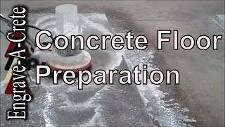 How to Clean and Prep a Concrete Floor