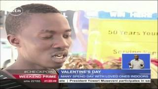 Street children in Nakuru given a rare Valentine's Day treat