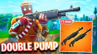 *NEW* LEGENDARY PUMP GAMEPLAY in Fortnite! (OVERPOWERED)