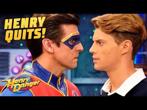 Henry Quits Being Kid Danger! | Henry Danger
