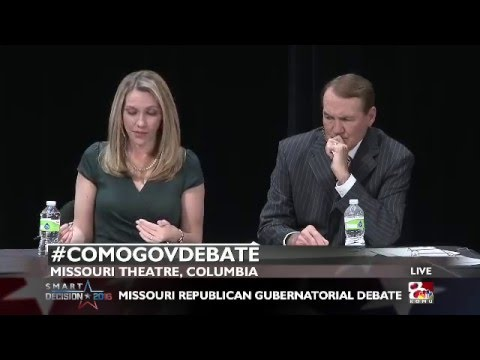 GOP Gubernatorial Debate, Hour 1